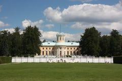 Región de Moscú. Estado Arkhangelskoe. Palacio. Fotografía de archivo libre de regalías