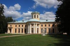 Región de Moscú. Estado Arkhangelskoe. Palacio. Foto de archivo libre de regalías