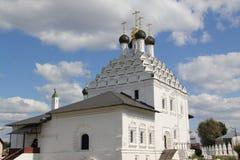 Región de Rusia, Moscú, Kolomna, iglesia de la resurrección Imagen de archivo