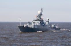 """REGIÓN de St Petersburg, †de RUSIA """"23 de julio de 2017 Guerra rusa de la marina de guerra Imagen de archivo"""