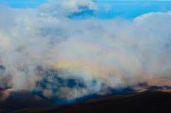 Región del volcán Fotografía de archivo libre de regalías