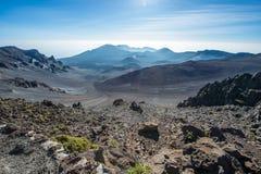 Región del volcán Fotos de archivo libres de regalías
