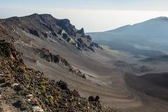 Región del volcán Imagen de archivo