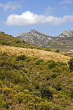 Región española de la montaña Fotos de archivo