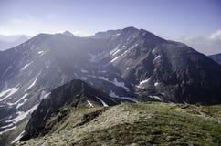 Región Liptov en Eslovaquia una su naturaleza y montañas Foto de archivo