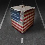 Regierung der Vereinigter Staatens-Abschaltung vektor abbildung