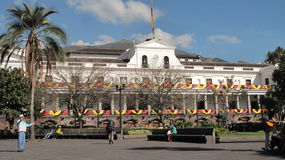 Regierungs-Palast Stockfotografie
