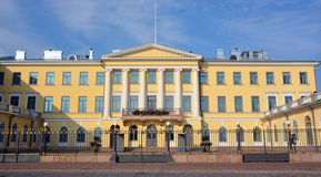Regierungs-Palast in Helsinki Stockbilder