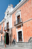 Regierungs-Palast, Tlaxcala (Mexiko) stockfotografie