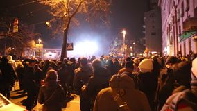 Regierungsfeindlicher Protest