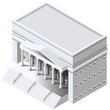 Regierungsgebäude stock abbildung