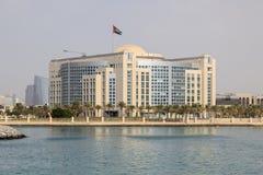 Regierungsgebäude in Abu Dhabi Lizenzfreies Stockbild