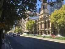 RegierungsGlockenturm in Adelaide stockbild