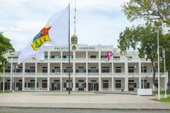 Regierungspalast in Chetumal Stockfotos
