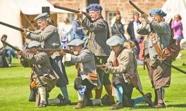 regiment s för earlfooteloudoun Royaltyfria Bilder