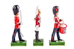 Regiment of tin guards Royalty Free Stock Photo