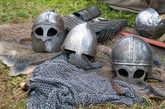 Regimentals of medieval knight Stock Image