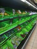 Regimente des russischen Supermarktes Lizenzfreie Stockfotografie