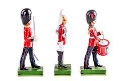 Regimiento de los guardias de la lata Foto de archivo libre de regalías