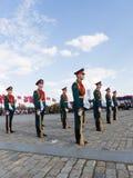 Regimiento de Preobrazhensky en la colina de Poklonnaya Foto de archivo
