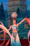 Regina cinese di dancing Fotografie Stock Libere da Diritti