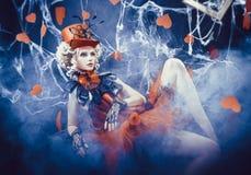 Regina dei cuori Fotografie Stock