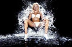 Regina del ghiaccio. Fotografia Stock