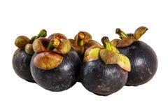 Regina del mangostano dei frutti Immagini Stock Libere da Diritti