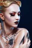 Regina del ragno Fotografie Stock Libere da Diritti