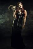Regina del terrore Fotografia Stock Libera da Diritti
