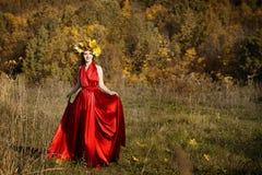 Regina dell'autunno Immagine Stock Libera da Diritti