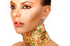 Regina dell'Egitto Fotografia Stock Libera da Diritti