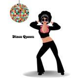 Regina della discoteca Fotografie Stock Libere da Diritti