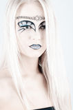 Regina della neve. Immagini Stock
