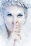 Regina della neve Immagini Stock Libere da Diritti