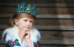 Regina della ragazza fotografie stock