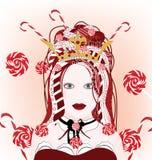 Regina delle caramelle Fotografie Stock