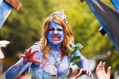 Regina delle zombie Immagine Stock