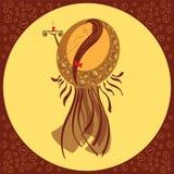 Regina di caffè Illustrazione Vettoriale