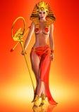 Regina di faraone Fotografia Stock Libera da Diritti