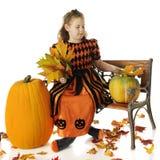 Regina di Halloween fotografia stock libera da diritti