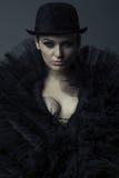 Regina di oscurità Immagini Stock Libere da Diritti