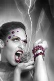 Regina diabolica Immagine Stock Libera da Diritti