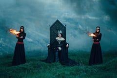 Regina diabolica scura Fotografie Stock Libere da Diritti