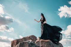 Regina diabolica scura Fotografia Stock