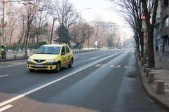 Regina Elisabeta boulevard Stock Image