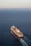 Regina Elizabeth che naviga verticale di vista aerea Immagini Stock