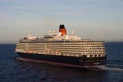 Regina Elizabeth che naviga vista aerea Fotografia Stock Libera da Diritti