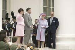 Regina Elizabeth II Immagine Stock Libera da Diritti