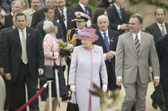 Regina Elizabeth II di Sua Maestà, Immagini Stock Libere da Diritti
